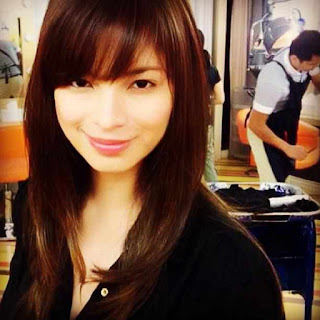 Angel Locsin Sports a New Hairstyle