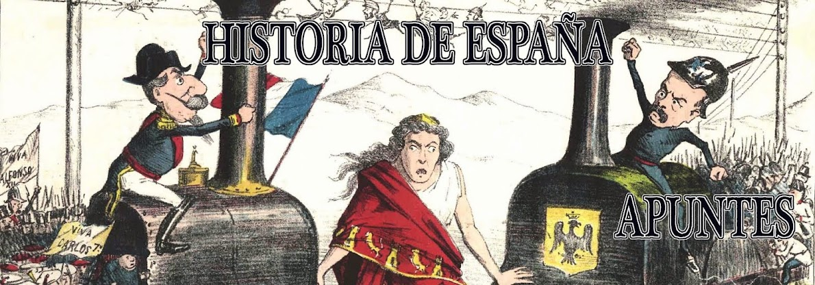 APUNTES HISTORIA DE ESPAÑA