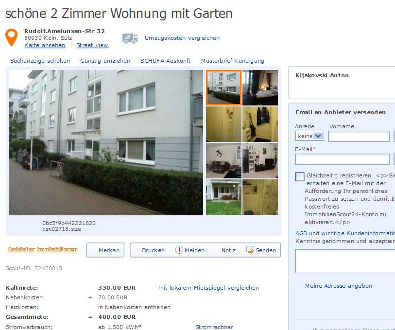 Wohnungsbetrug.blogspot.com: Afschinkelishadi@gmail.com