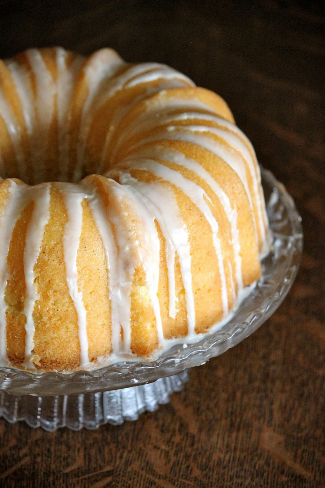 Baked Perfection: Orange Pound Cake