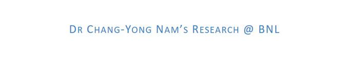 Chang-Yong Nam @ BNL