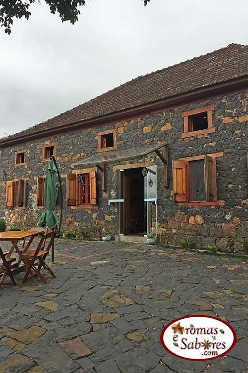 Caminhos de Pedra - restaurante Casa Angelo