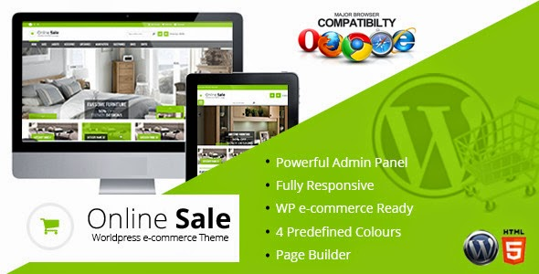 Online Sale v1.2 - Responsive WordPress  Ecommerce Theme