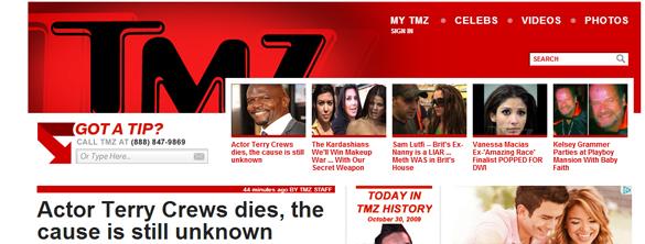 #RIPTerryCrews - Morre aos 44 anos o ator Terry Crews - Noticias TMZ - G1 - R7