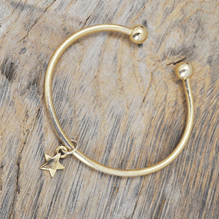 Blooming Lovely Lucy Star Charm Bangle