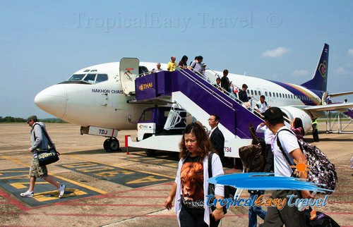 how to get to koh samui airport
