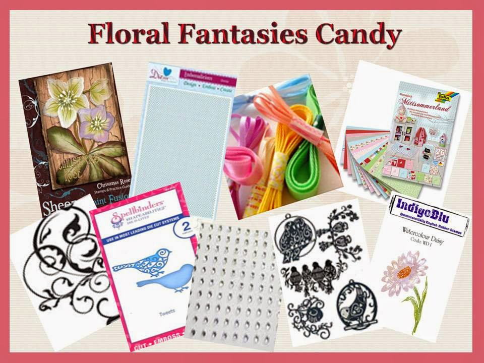 Floral Fantasies blog candy