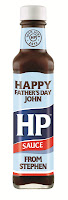HP personalised bottle for fathers day
