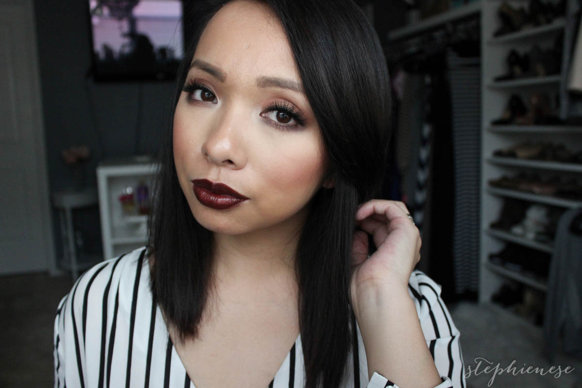 Souvent Stephienese | Dallas style + life blog: Vampy Makeup on Thanksgiving GV17
