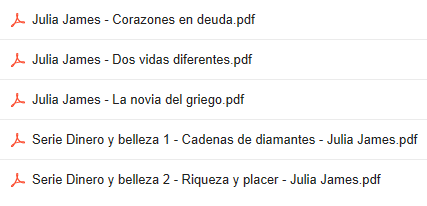 Descargar Novelas De  Julia James  En PDF