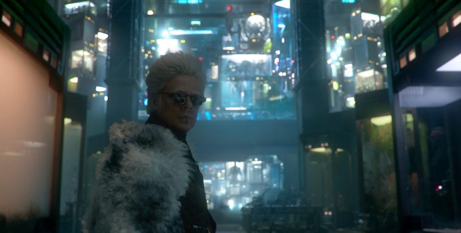 Benicio del Toro en Guardianes de la Galaxia