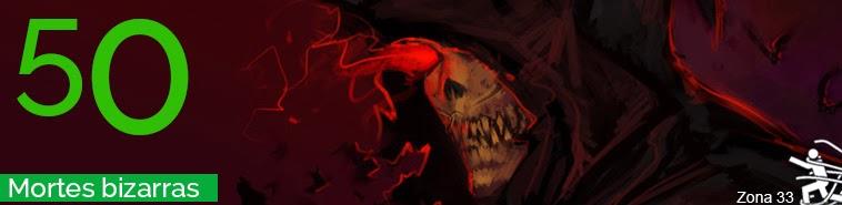 mortes bizarras, curiosidades, fatos, interessante