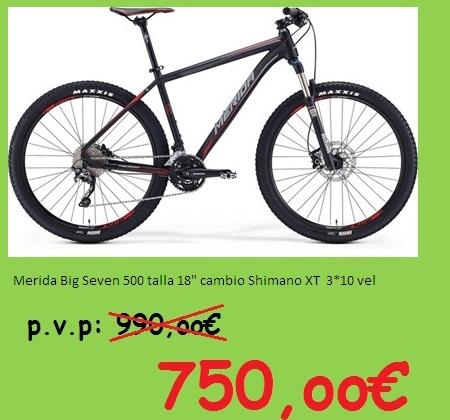 Bicicleta Merida 500 del 2016