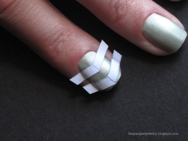 bespangled jewelry diy minty fresh