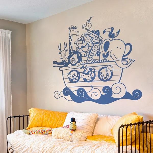Papel pintado vinilos infantiles para paredes - Papel de vinilo ...