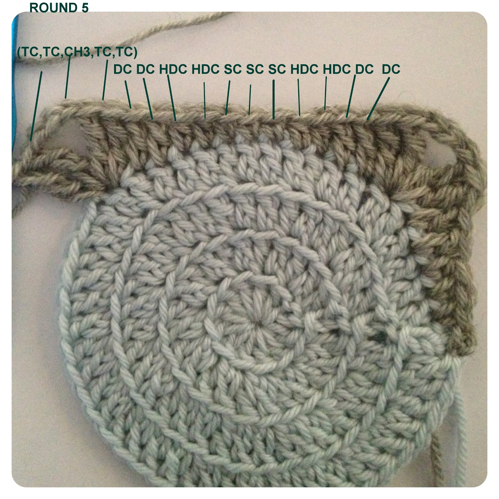 How Do I Crochet : Three Beans in a Pod: Retro Circles - The Tutorial