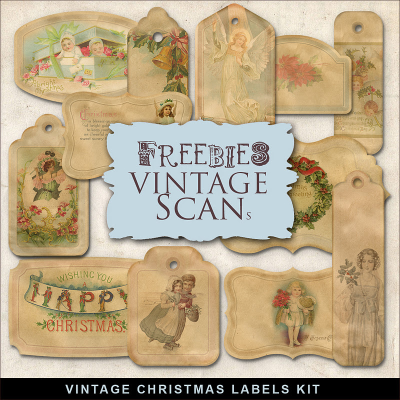 Freebies vintage christmas labelsfar far hill free database of freebies vintage christmas labels negle Image collections