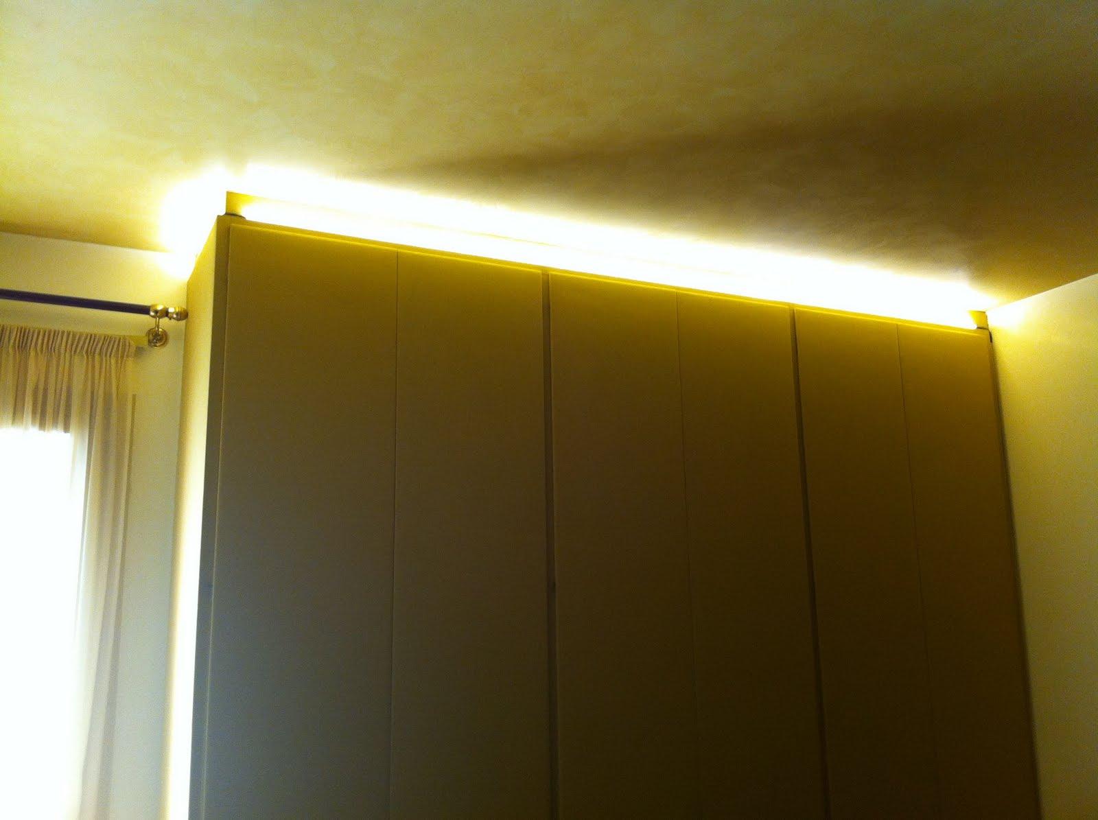 Lux montaggi arredamenti civili e navali arredamento d for Illuminazione a led per interni