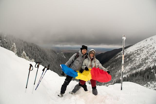 Fagaras Hikes - Winter weekend_piatra pranzului