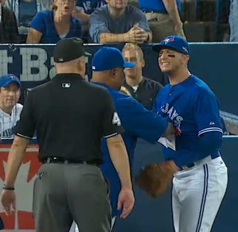 Troy Tulowitzki Family troy tulowitzki ejected from alcs game 3 for arguing balls ...