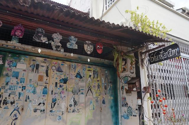 Melacca Best street art