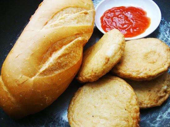 Bánh mì chả cá