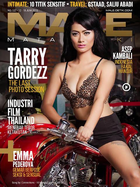 Model @ Tarry Gordezz - Male Indonesia, June 2015