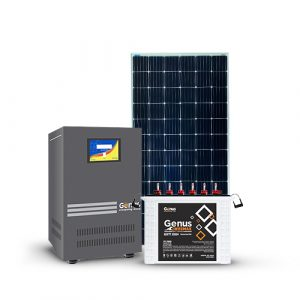 3KVA POWER INVERTER, PANELS AND 200AH BATTERIES