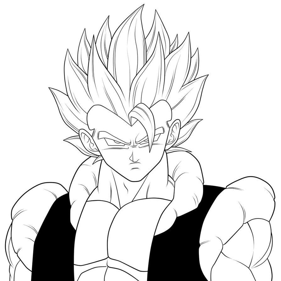 Line Art Là Gì : Dibujos de dragon ball z para