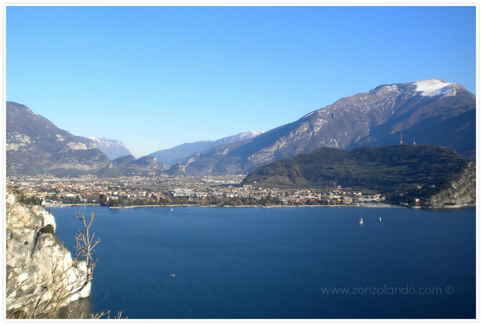 Strada del Ponale come arrivare sentiero passeggiata panorama Pregasina Lago di Garda