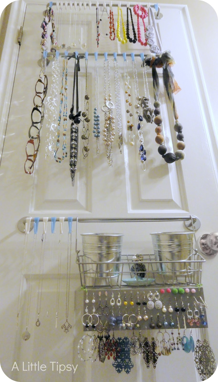 DIY Jewelry Organizer A Little Tipsy