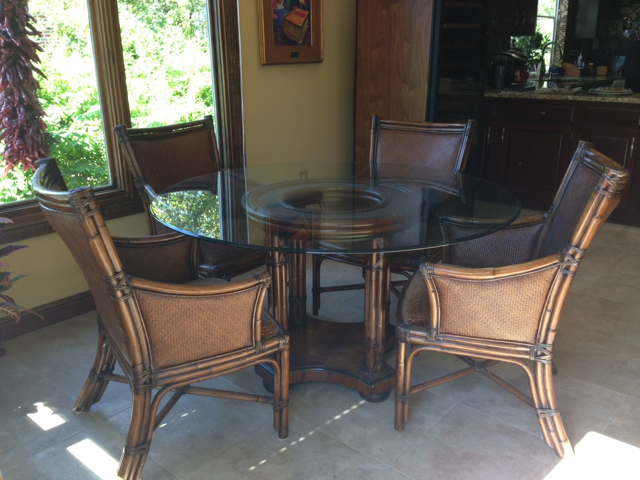 Thomasville Dining Room Chairs Rebecca Stisser Reorganization Redesign 5 Piece Dining Room
