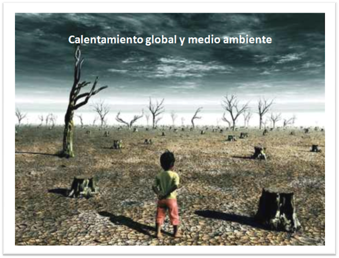 Calentamiento Global y efectos en el AMBIENTE