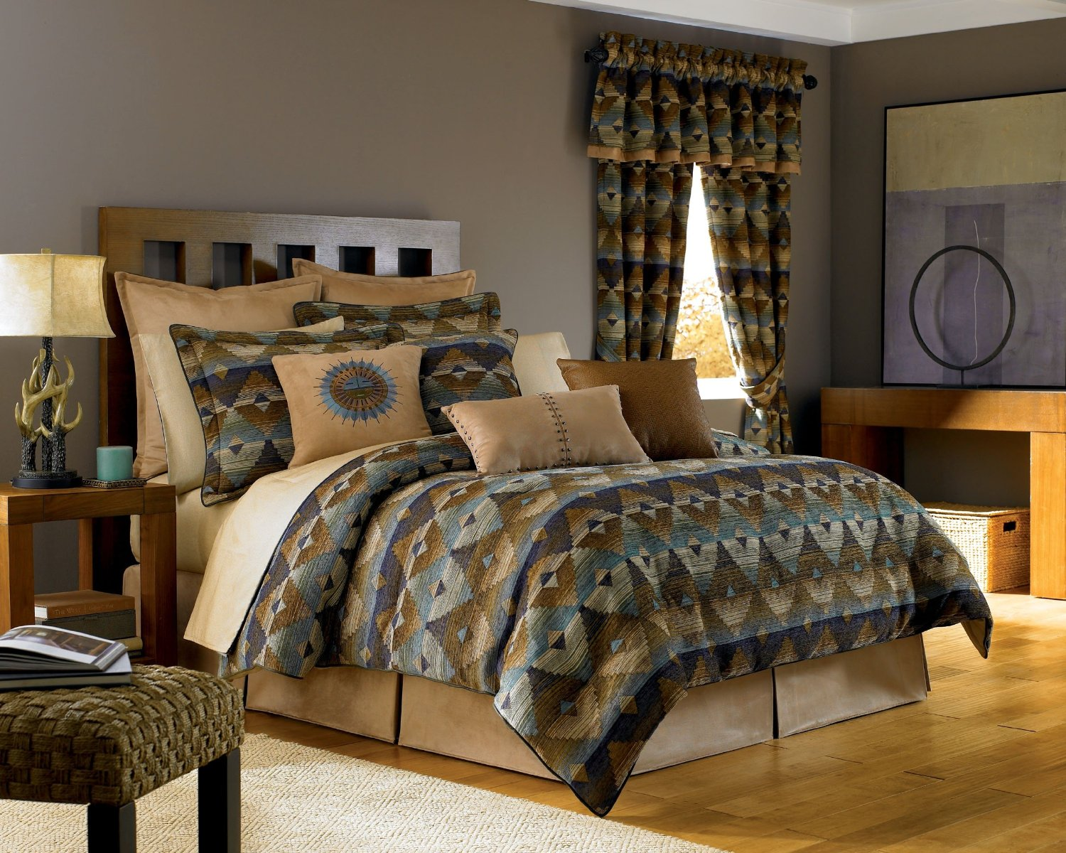 Southwest Bedroom Decor Total Fab Southwest Style Comforters And Native American Indian