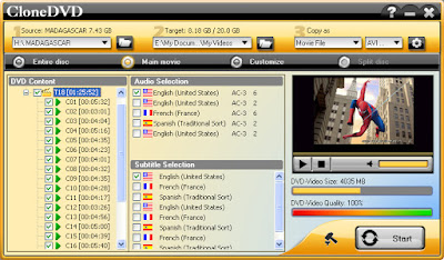 برنامج CloneDVD 5  برنامج نسخ dvd