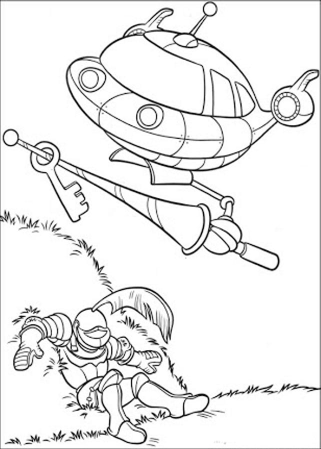 Dibujos y Plantillas para imprimir: Little Einstein