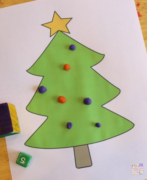 FREE Christmas Tree Math Printables: 4 Ways to Play! | School Time ...