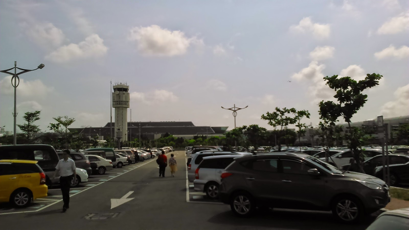 TPE International Airport in Taipei