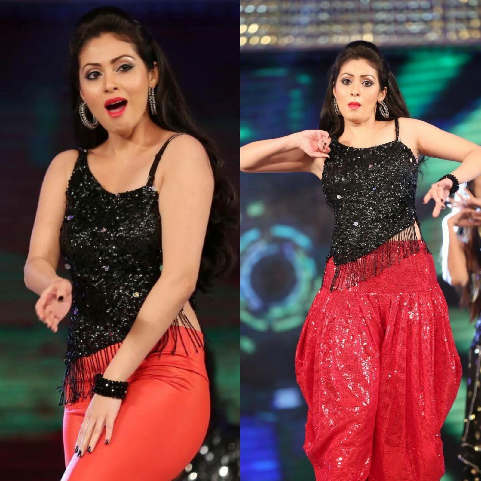 Actress Sada Hot Spicy Dance Performance Photos Gallery at Gama Awards 2014