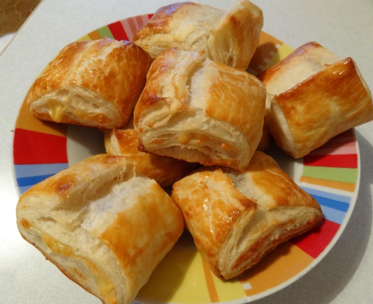 Слоеное тесто с мясом рецепт пошагово