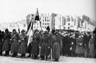 WW2 Poland - 1st Polish (Peoples) Army Parade January 19, 1944