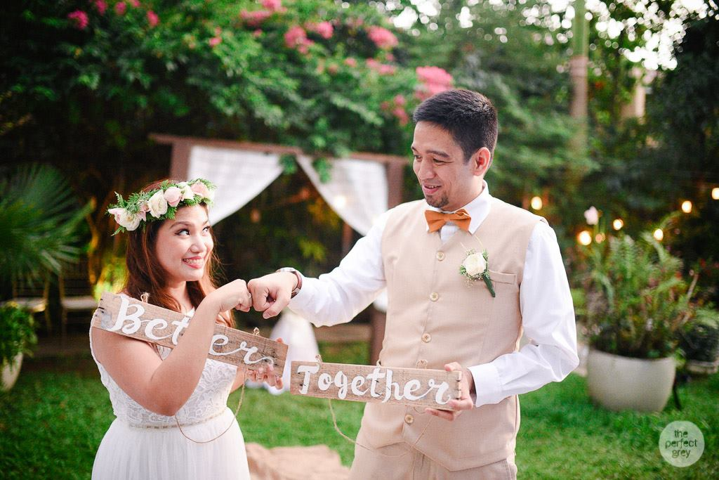 My Simple Intimate Happy And Practical Wedding Story Mommy