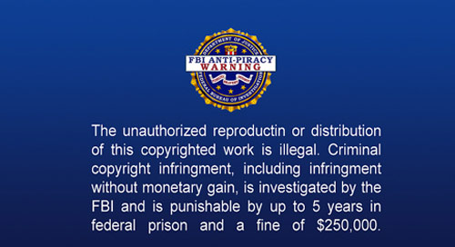 Remove FBI Anti-Piracy Warning that fakes official Seal of the Bureau