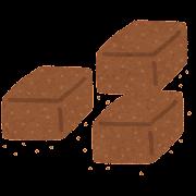 生チョコのイラスト