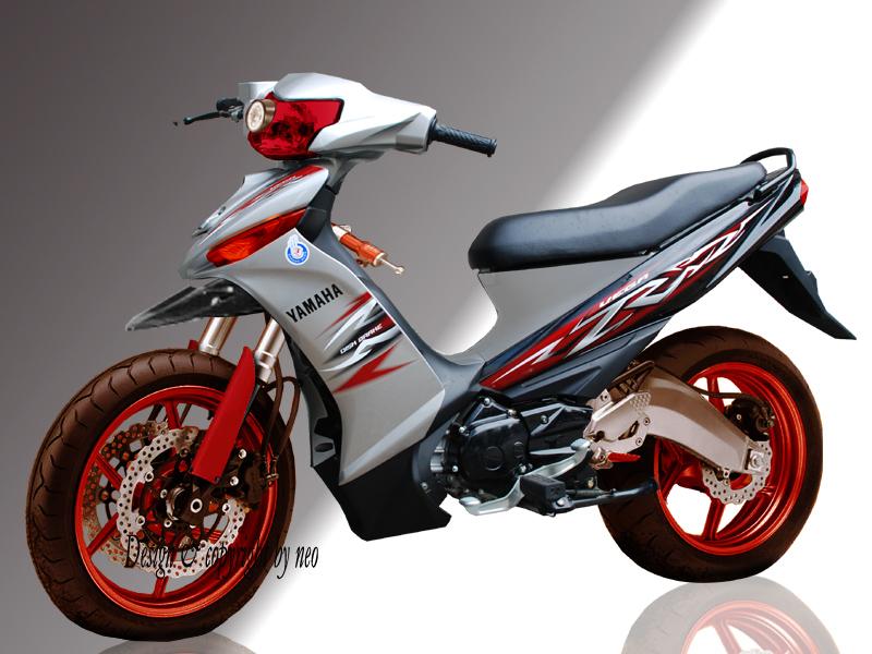 Gambar Motor Vega R Modifikasi 2013 title=
