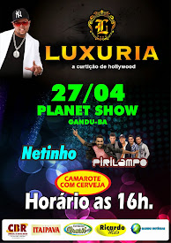 DIA 27 DE ABRIL NO PLANET SHOW