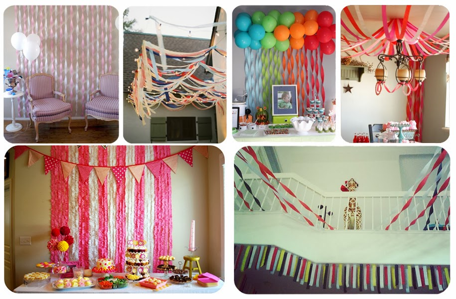 Flingers Party Streamers - Pinterest Inspiration & party streamer decorations - Design Decoration