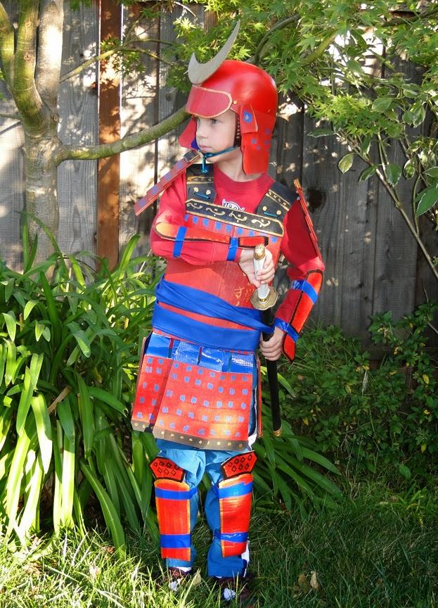 Skull And Crown Cardboard Samurai