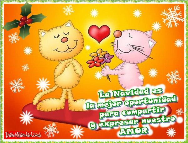 Imagenes de felicitaciones de navidad de amor
