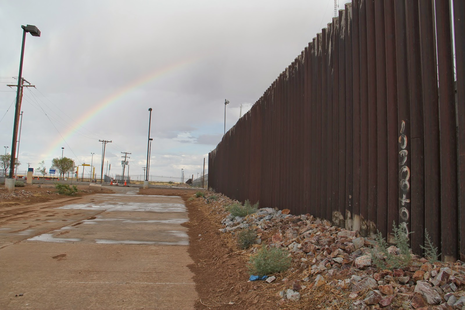 No border wall for Border wall
